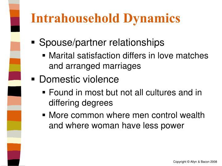 Intrahousehold Dynamics