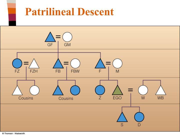 Patrilineal Descent