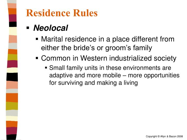 Residence Rules