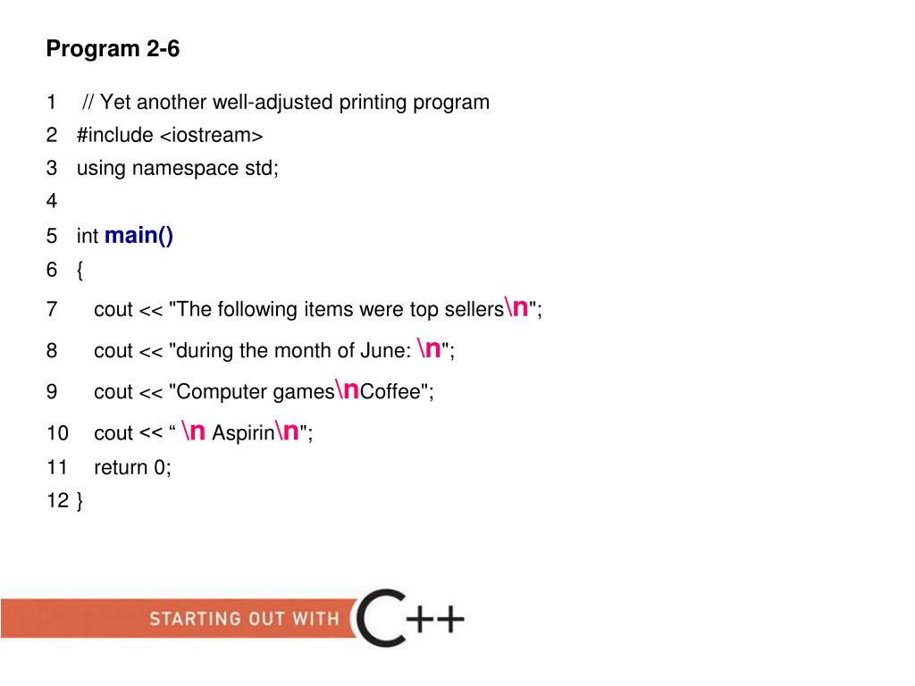 PPT - Starting Out with C++: From Control Structures through