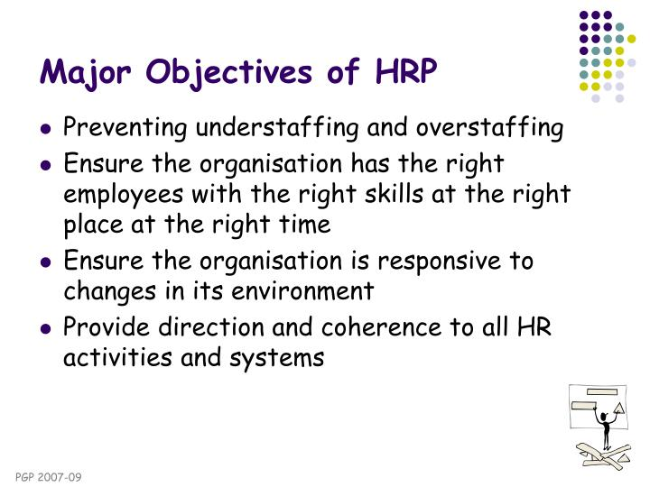 objectives of human resource planning pdf