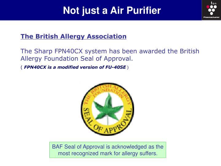 Not just a Air Purifier