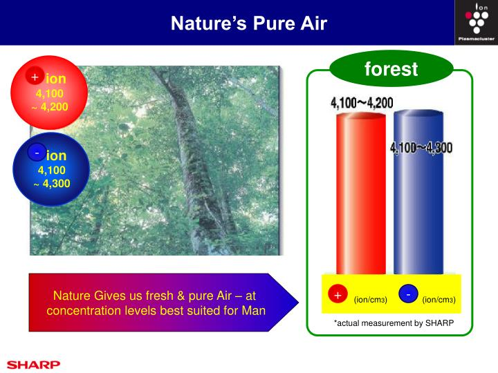 Nature's Pure Air