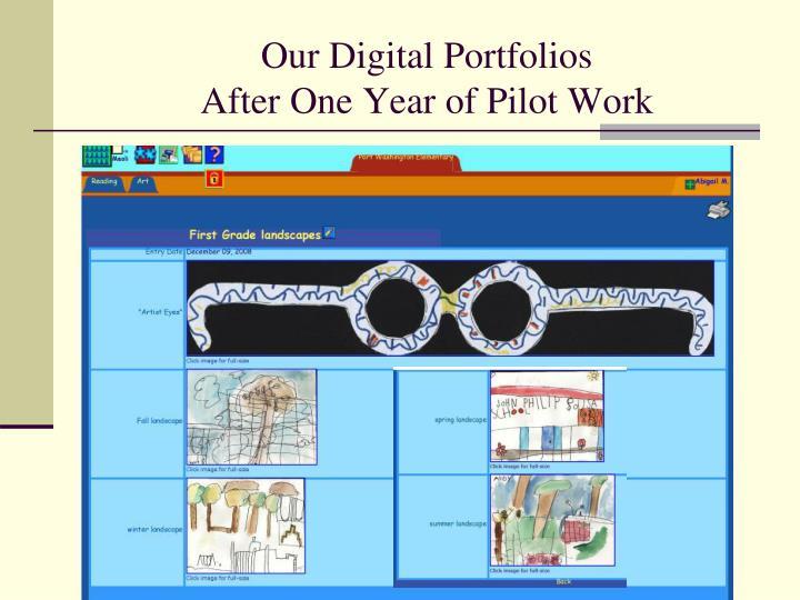 Our Digital Portfolios