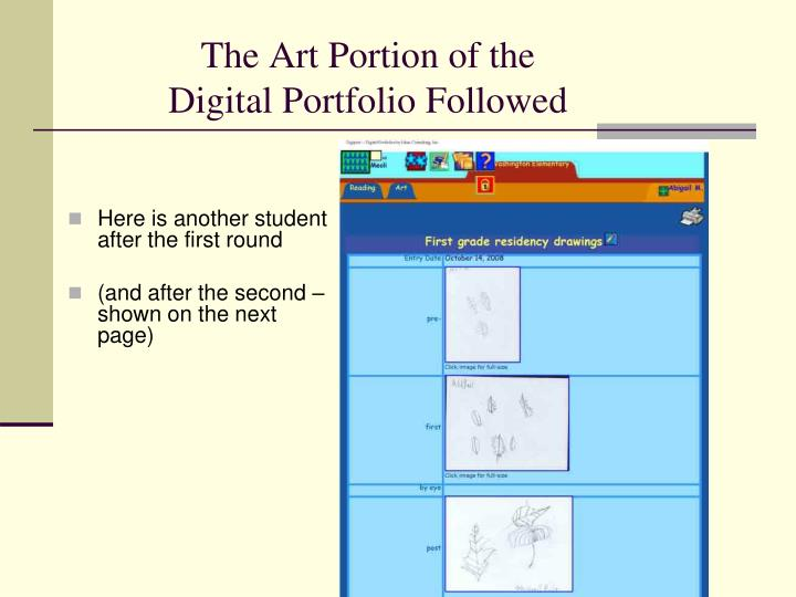 The Art Portion of the