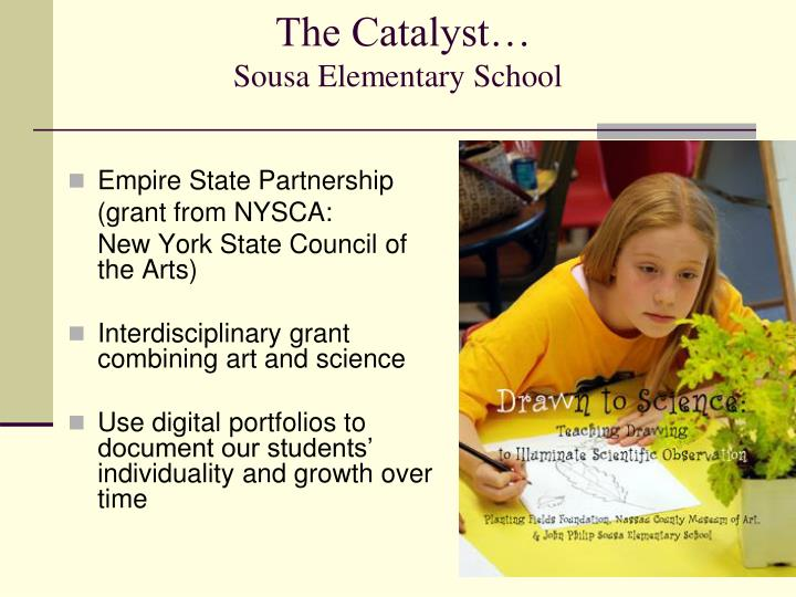 The Catalyst…