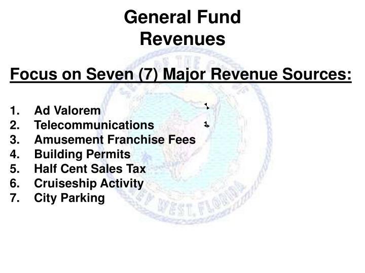 General fund revenues