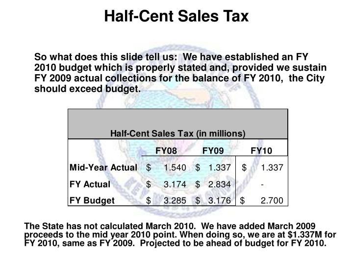 Half-Cent Sales Tax