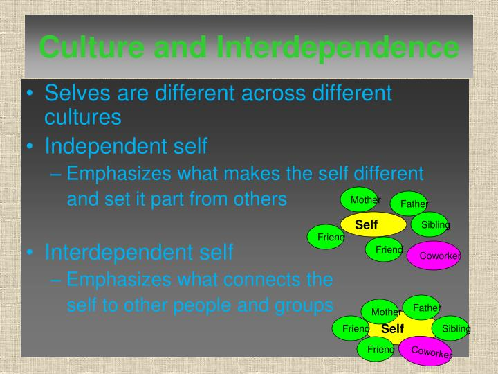 Culture and Interdependence