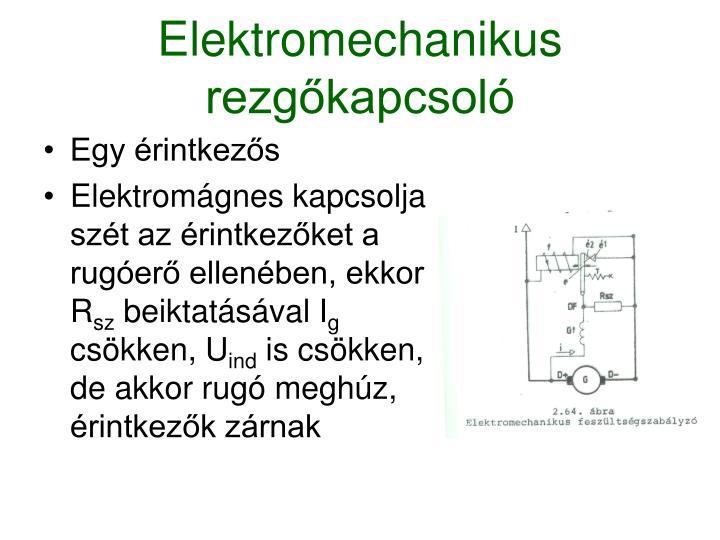 Elektromechanikus rezgőkapcsoló