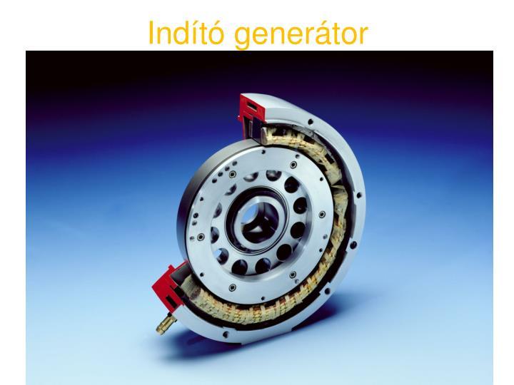 Indító generátor