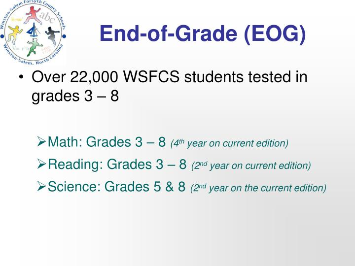 End of grade eog