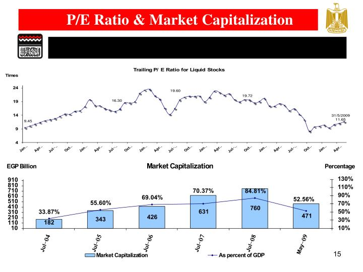P/E Ratio & Market Capitalization