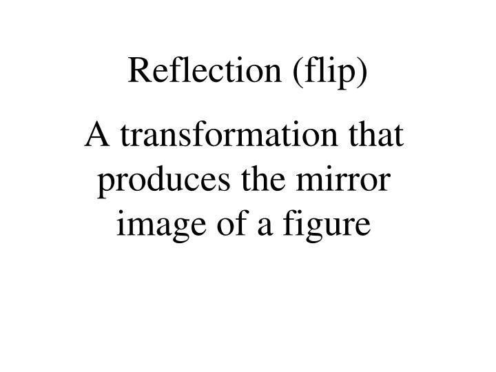 Reflection (flip)