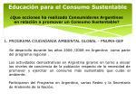educaci n para el consumo sustentable