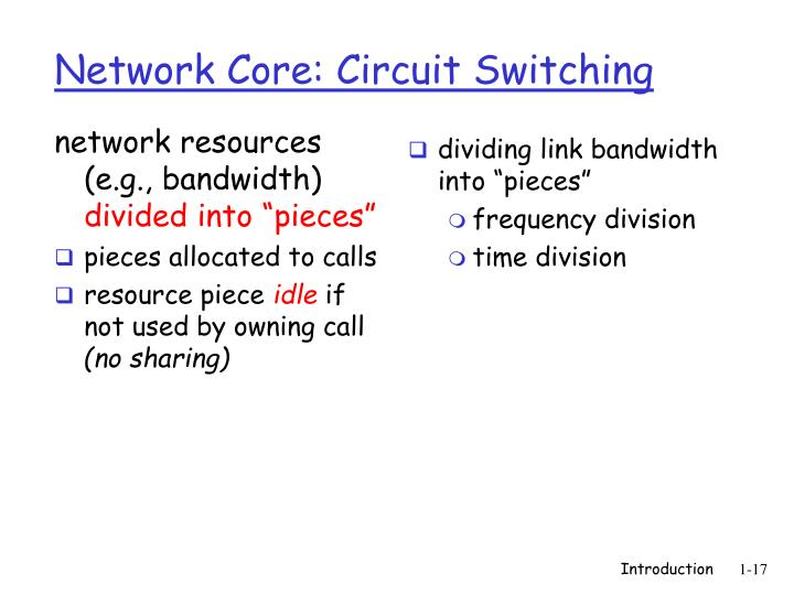network resources (e.g., bandwidth)