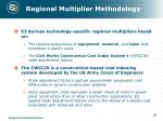 regional multiplier methodology1