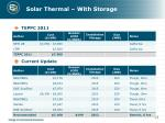 solar thermal with storage
