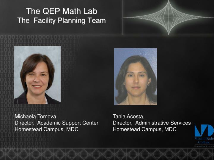 The QEP Math Lab