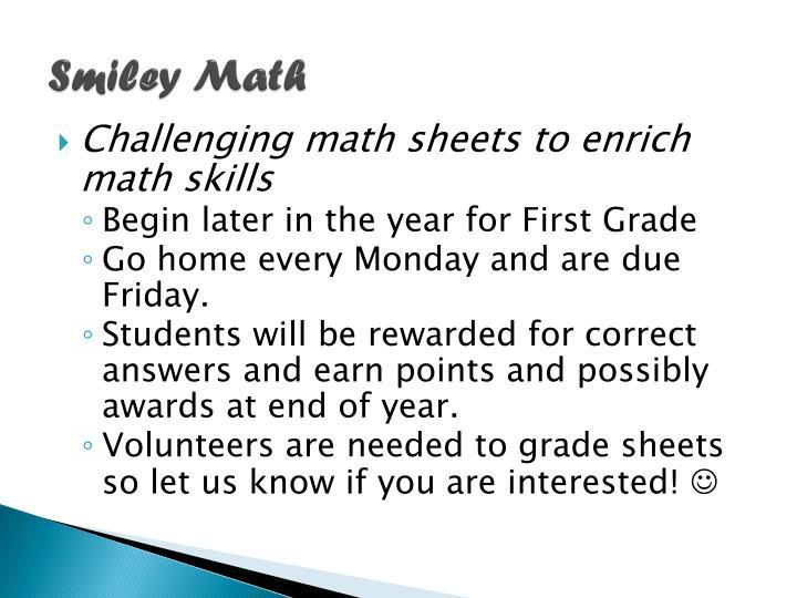 Smiley Math