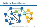 sybilguard algorithm cont