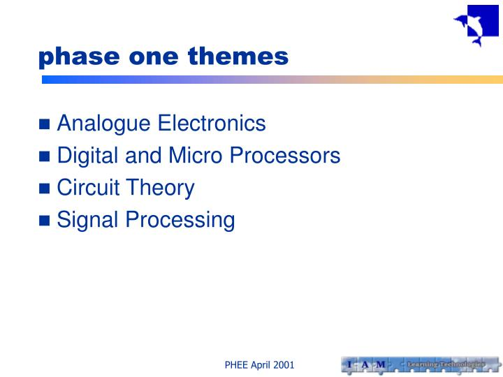 phase one themes