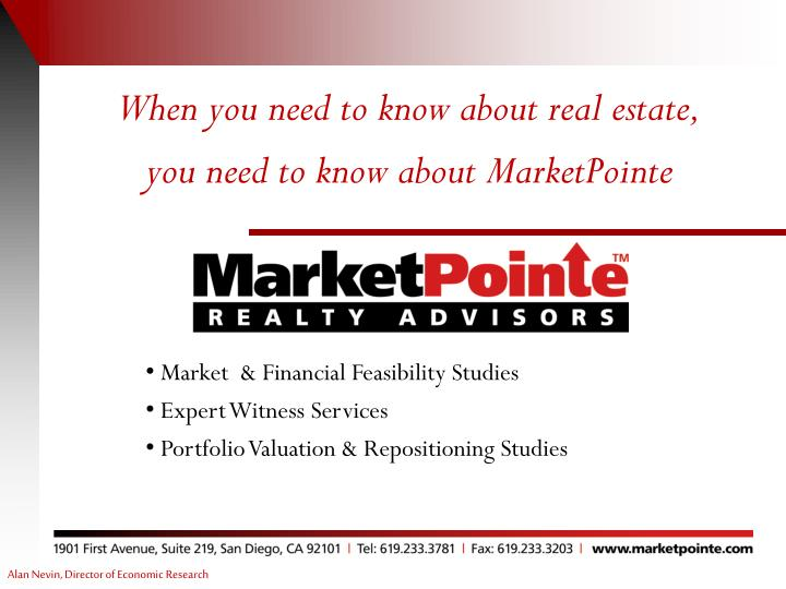 When you need to know about real estate,