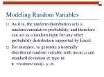 modeling random variables4