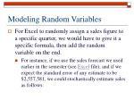 modeling random variables5