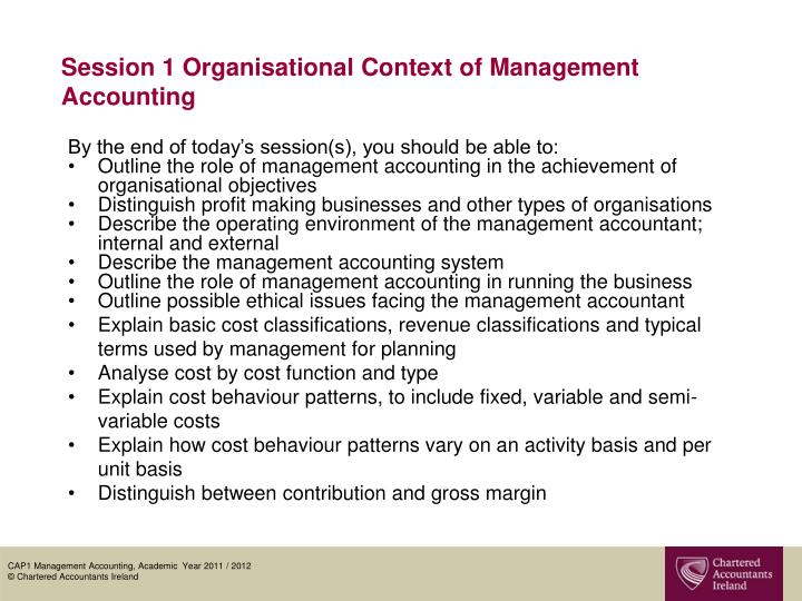 session 1 organisational context of management accounting n.