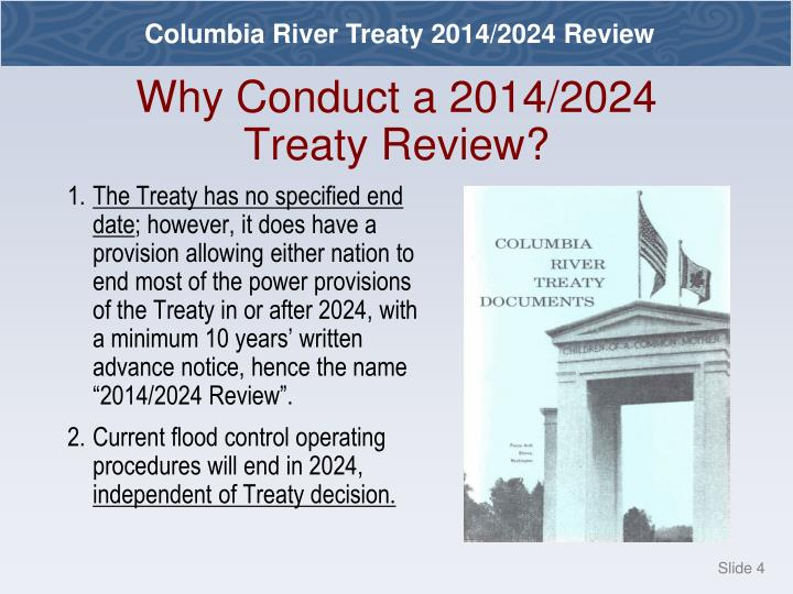 Why Conduct a 2014/2024 Treaty Review?