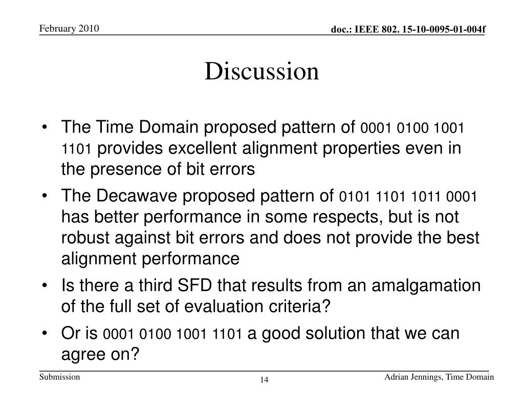 PPT - doc : IEEE 802  15-10-0095-01-004f PowerPoint
