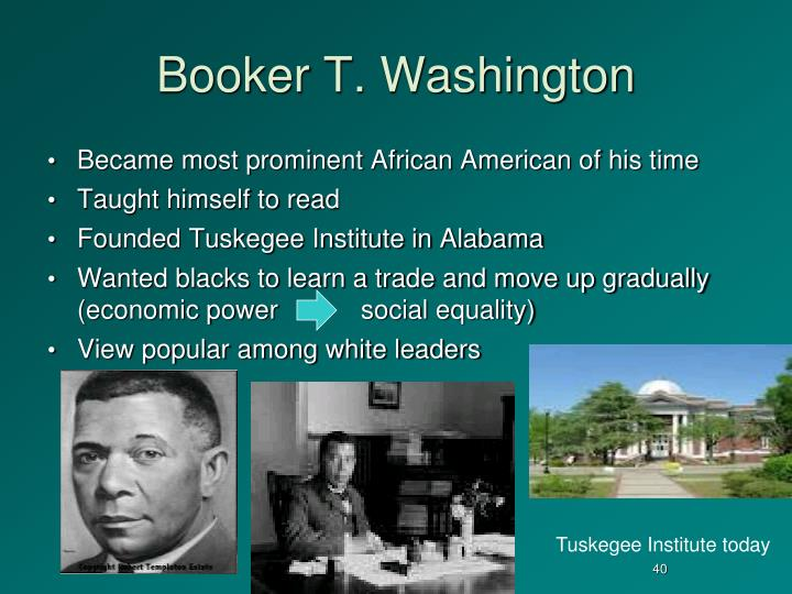 booker t washingtons and w e b duboiss activism for equality of african americans Find out more about the history of w e b du  career that combined scholarship and teaching with lifelong activism in liberation  booker t  washington (whose.