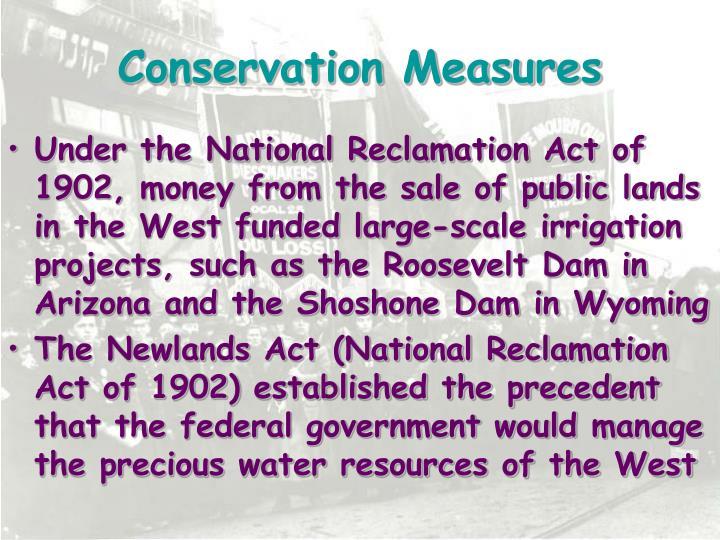 Conservation Measures