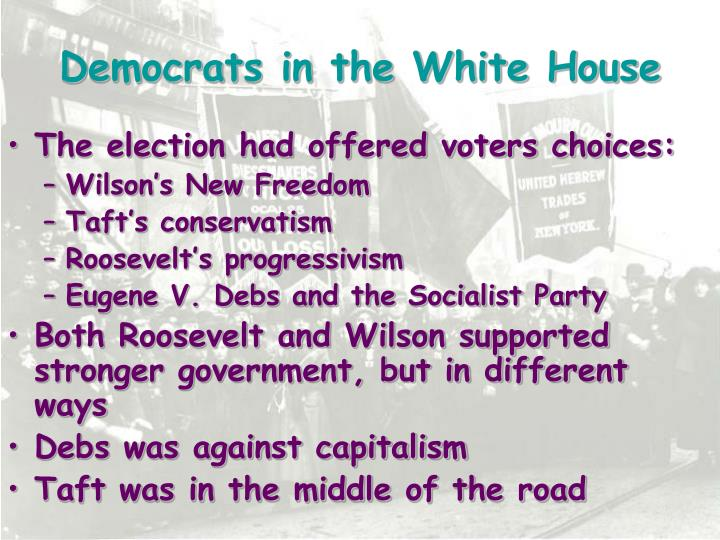 Democrats in the White House