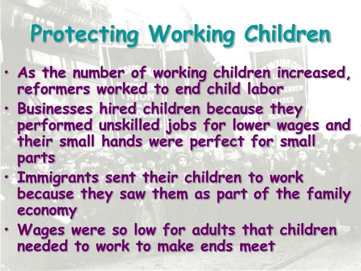 Protecting Working Children
