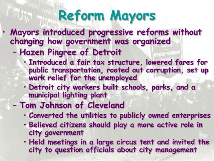 Reform Mayors