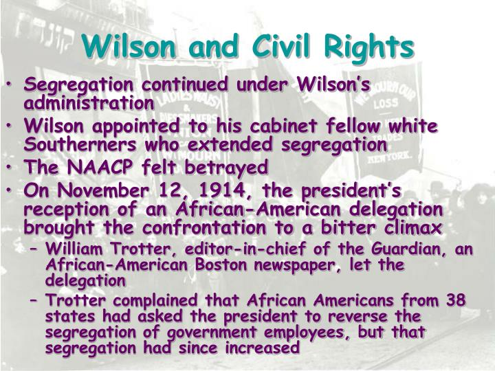 Wilson and Civil Rights