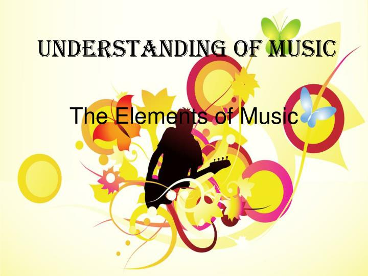 the elements of music The 3 elements of music - rhythm why is rhythm is the most important element of musicbecause anybody can understand and feel rhythm if you can walk in pace and have a heartbeat, you can feel a pulse and groove along to any song.