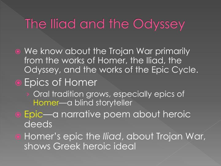 homers epic essay Free essays on the odyssey available at echeatcom, the largest free essay community new to echeat create an account the odyssey homer's epic, the odyssey.