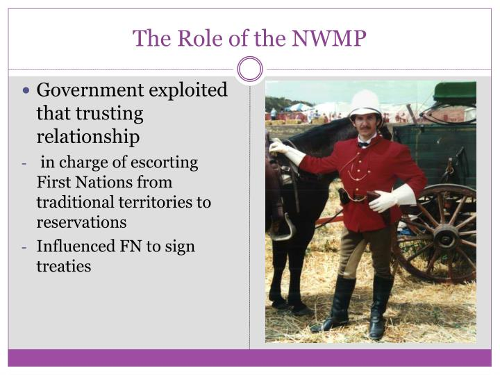 The Role of the NWMP