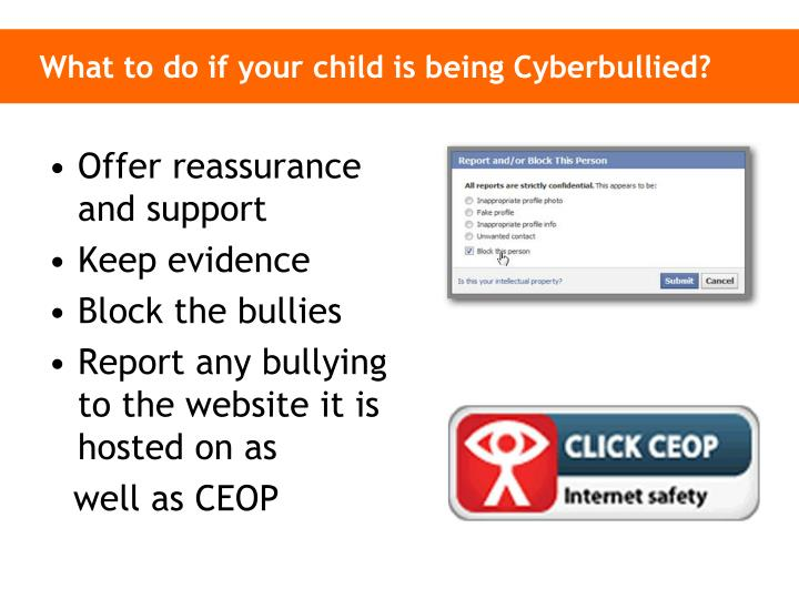 What to do if your child is being Cyberbullied?