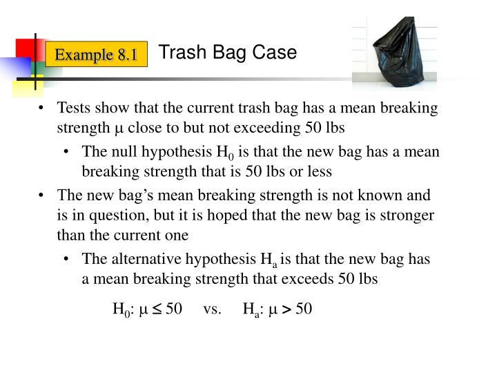 Trash Bag Case