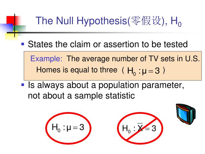 The Null Hypothesis(