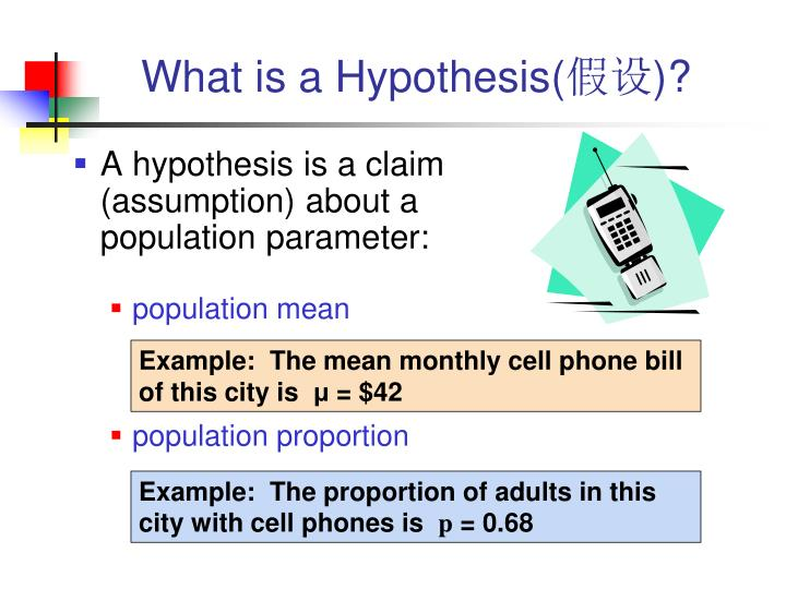What is a Hypothesis(