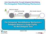 inter operating grids through delegated matchmaking the delegated matchmaking mechanism