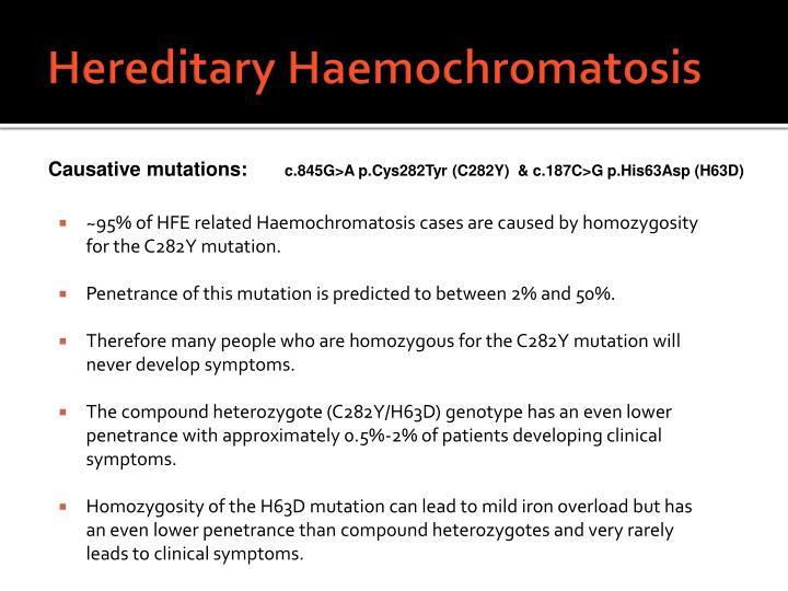 Hereditary Haemochromatosis