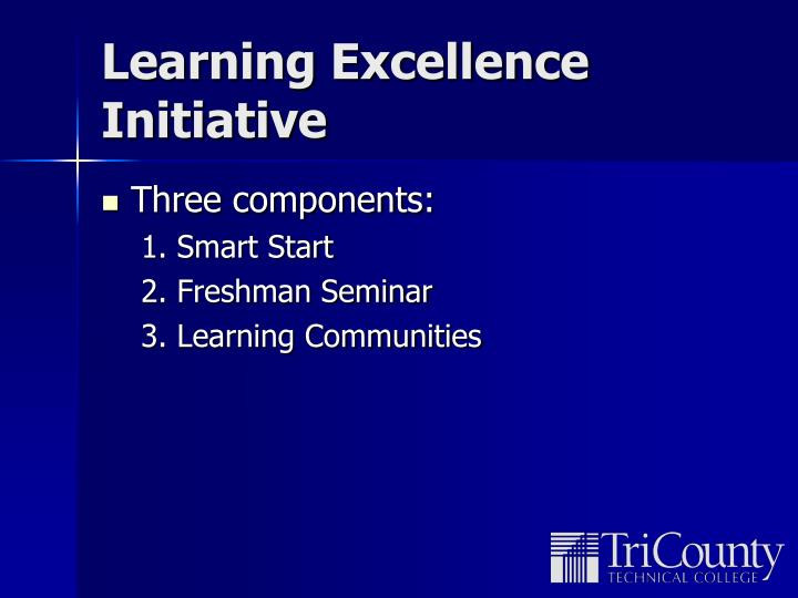 Learning Excellence Initiative