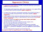 approccio clinico