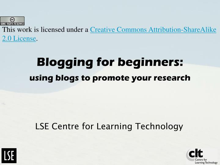 blogging for beginners using blogs to promote your research n.